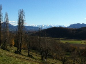 Fresh snow on the Pyrenees in time for Christmas