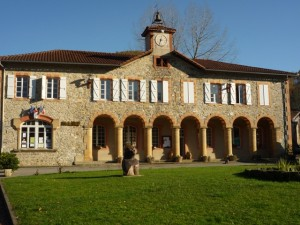 The Mairie in the village of Arbas