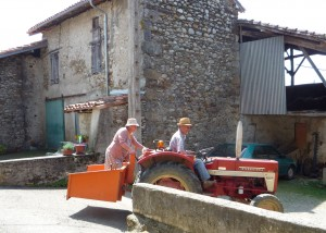 Retirement 'paysan' style in South West France